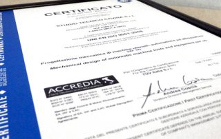 certificazione di qualità TUV
